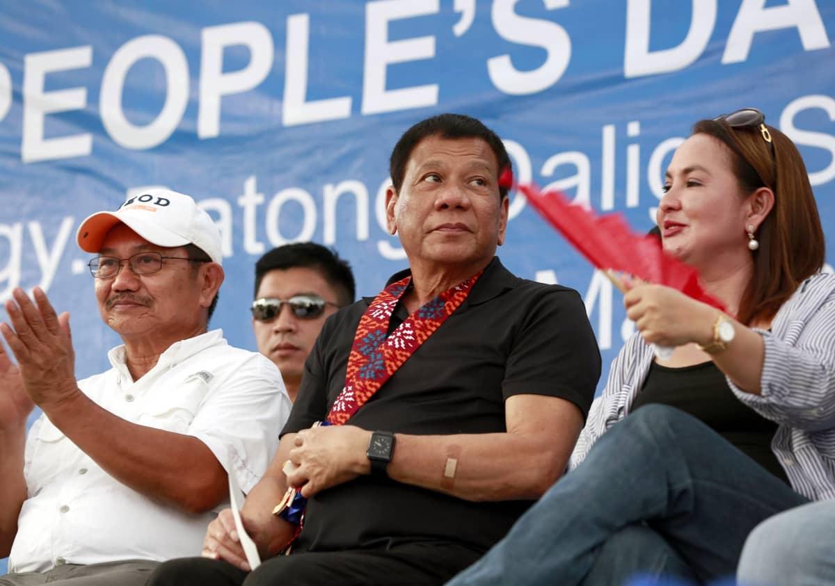 Philippiinien presidentti Rodrigo Duterte