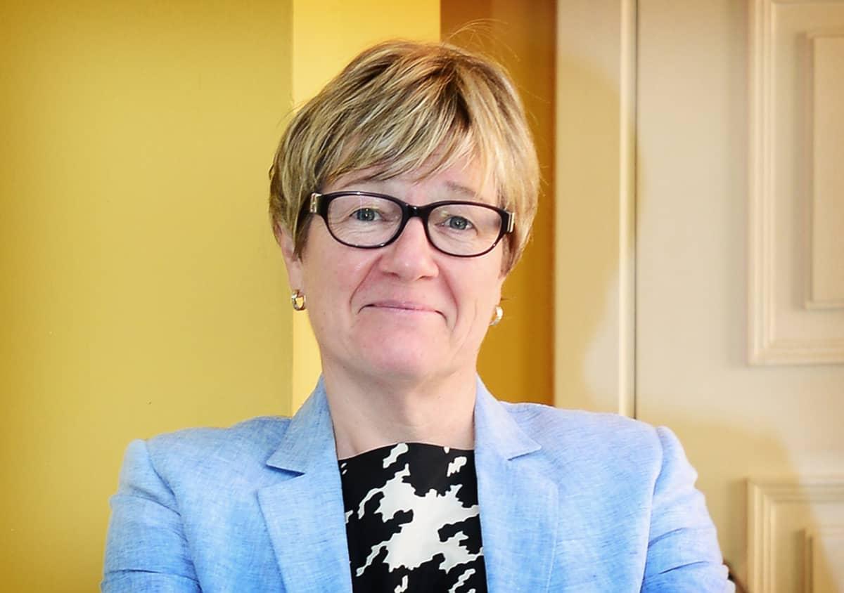 Suomen Intian-suurlähettiläs Nina Vaskunlahti.