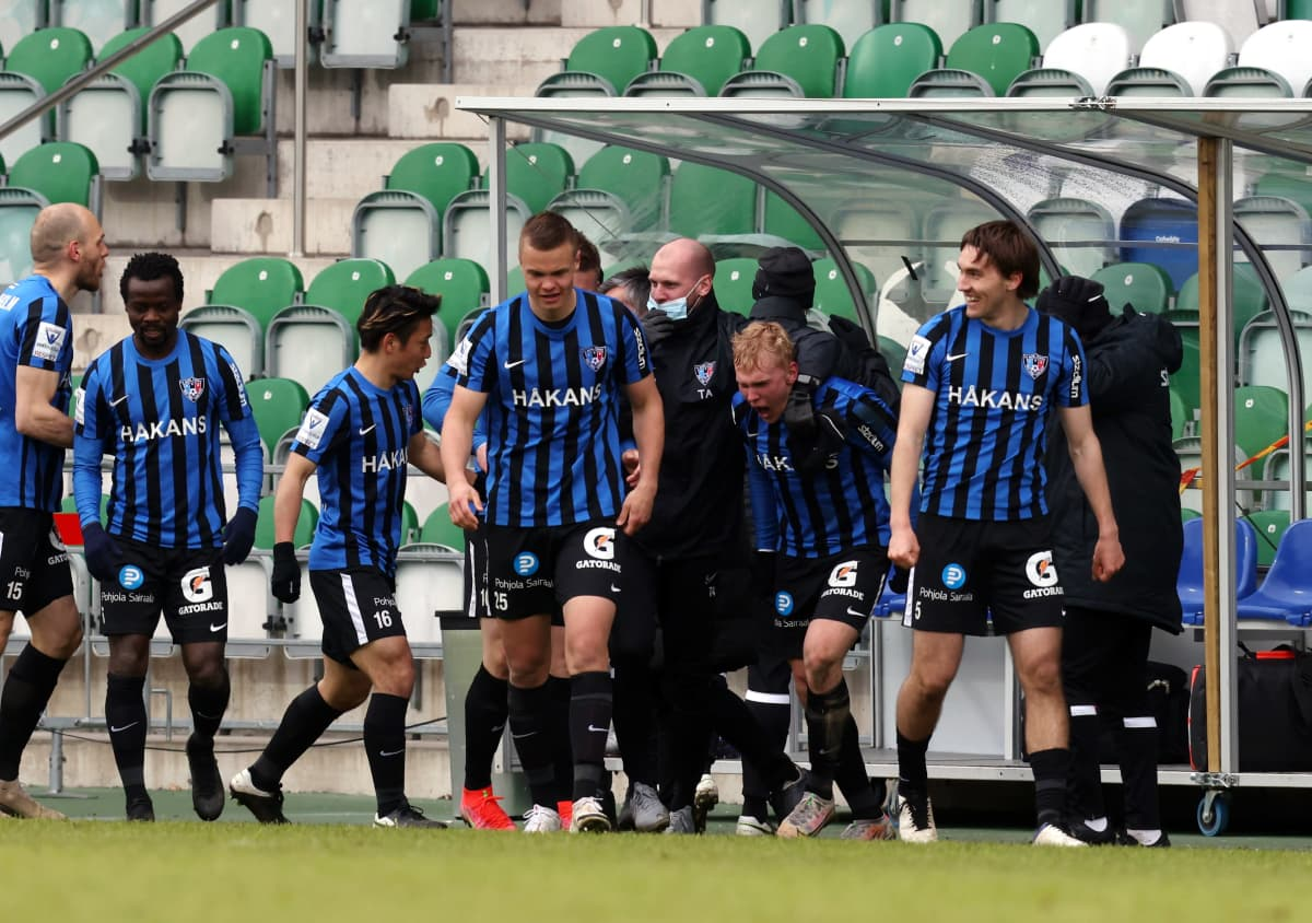 Veikkausliigassa toisena oleva FC Inter on pelannut alkukauden kotiottelunsa hyvin pienelle katsojamäärälle.