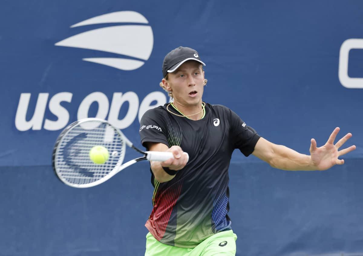 Emil Ruusuvuori US Openissa.