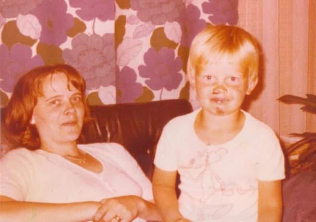 Timo Osmonen ja hänen äitinsä