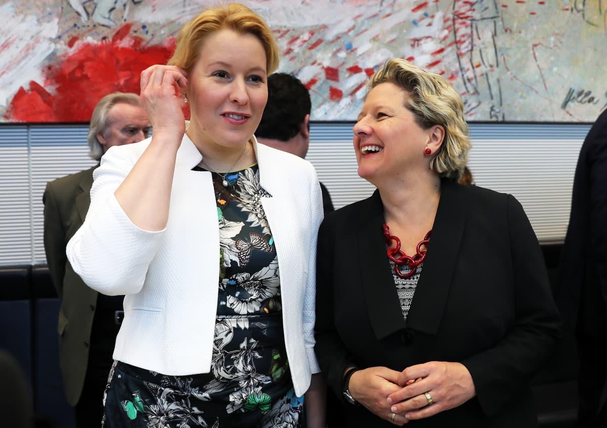 SPD:n uusia ministereitä