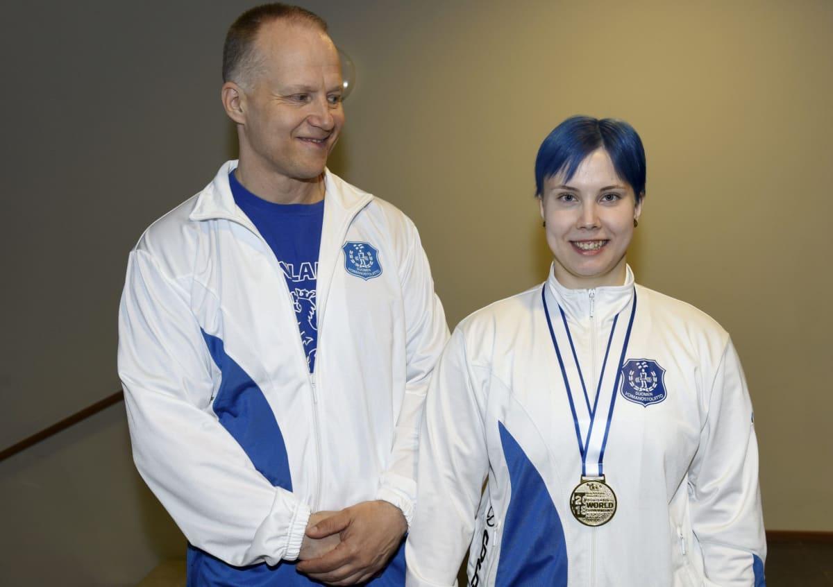 Jari ja Susanna Törrönen.
