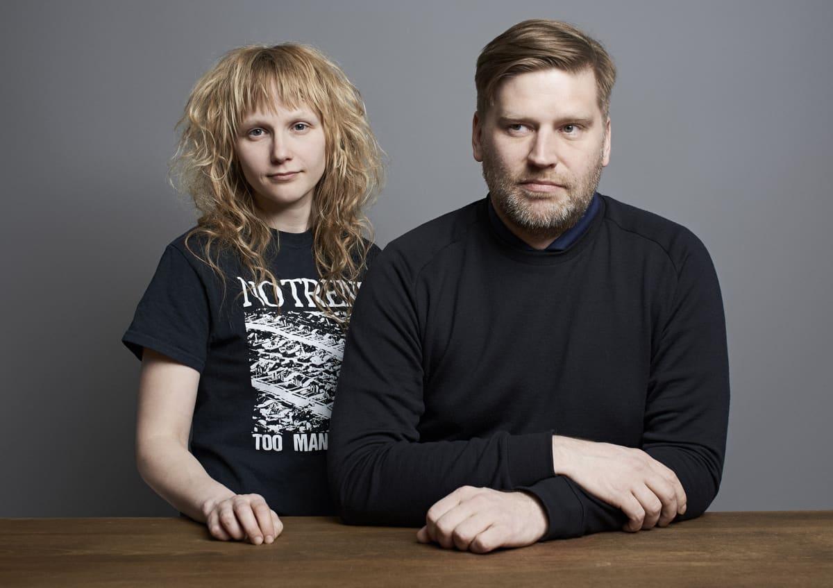 Mervi Vuorela ja Ville Similä