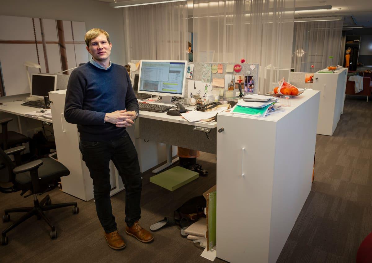 Elinkeinosuunnittelija Henri Kähönen