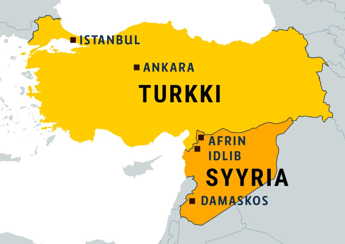 Turkki, Syyria