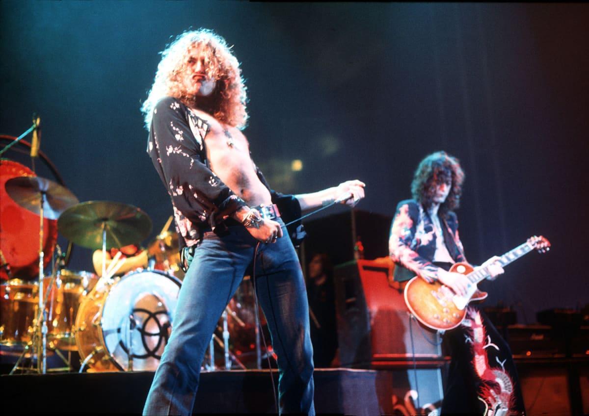 Robert Plant ja Jimmy Page.