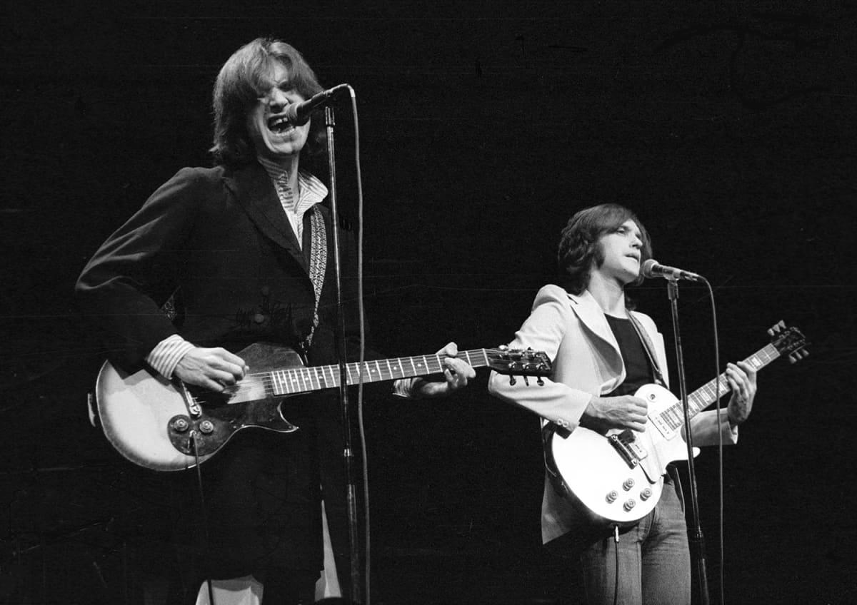 The Kinks konsertoi vuonna 1974.