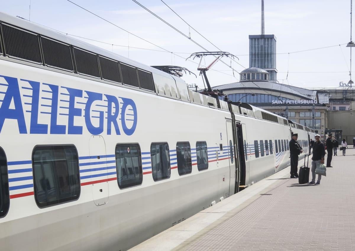Allegro-juna Pietarissa