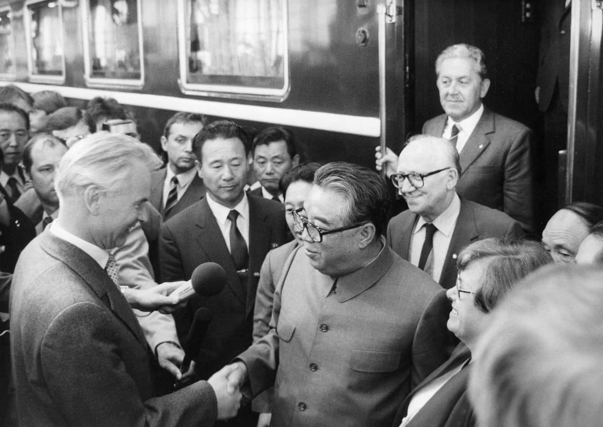 Kim Il-sung DDR:ssa