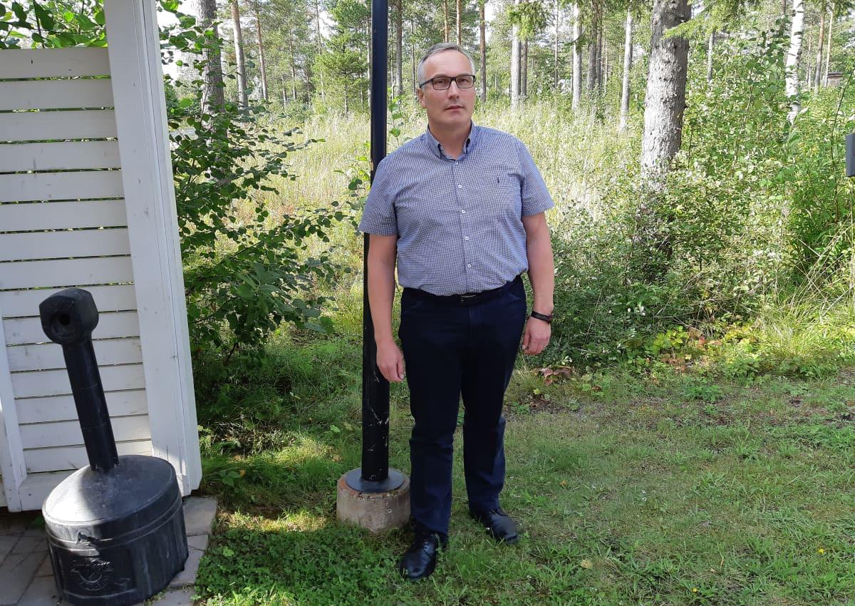 Projektipäällikkö Keijo Heikkilä, Väylävirastosta.