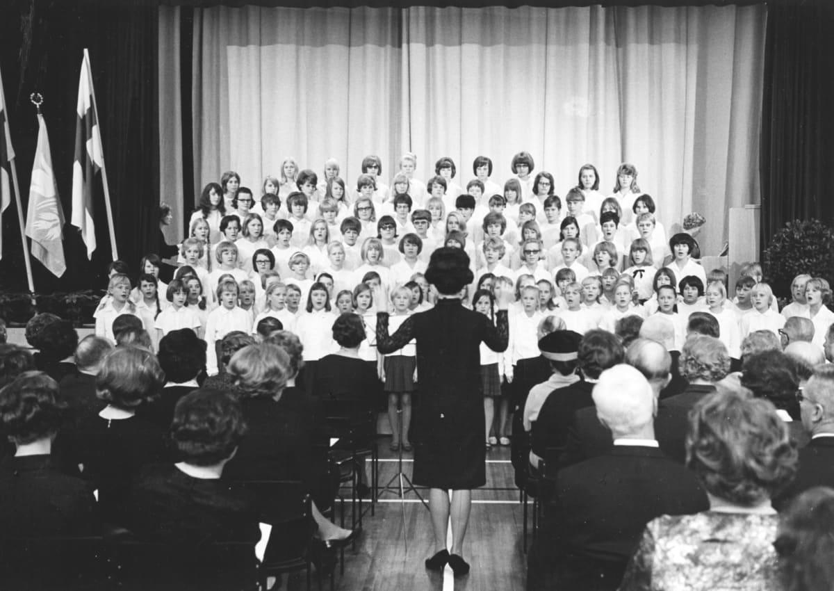 Tiirismaan uuden koulun vihkiäiset 3.11.1965