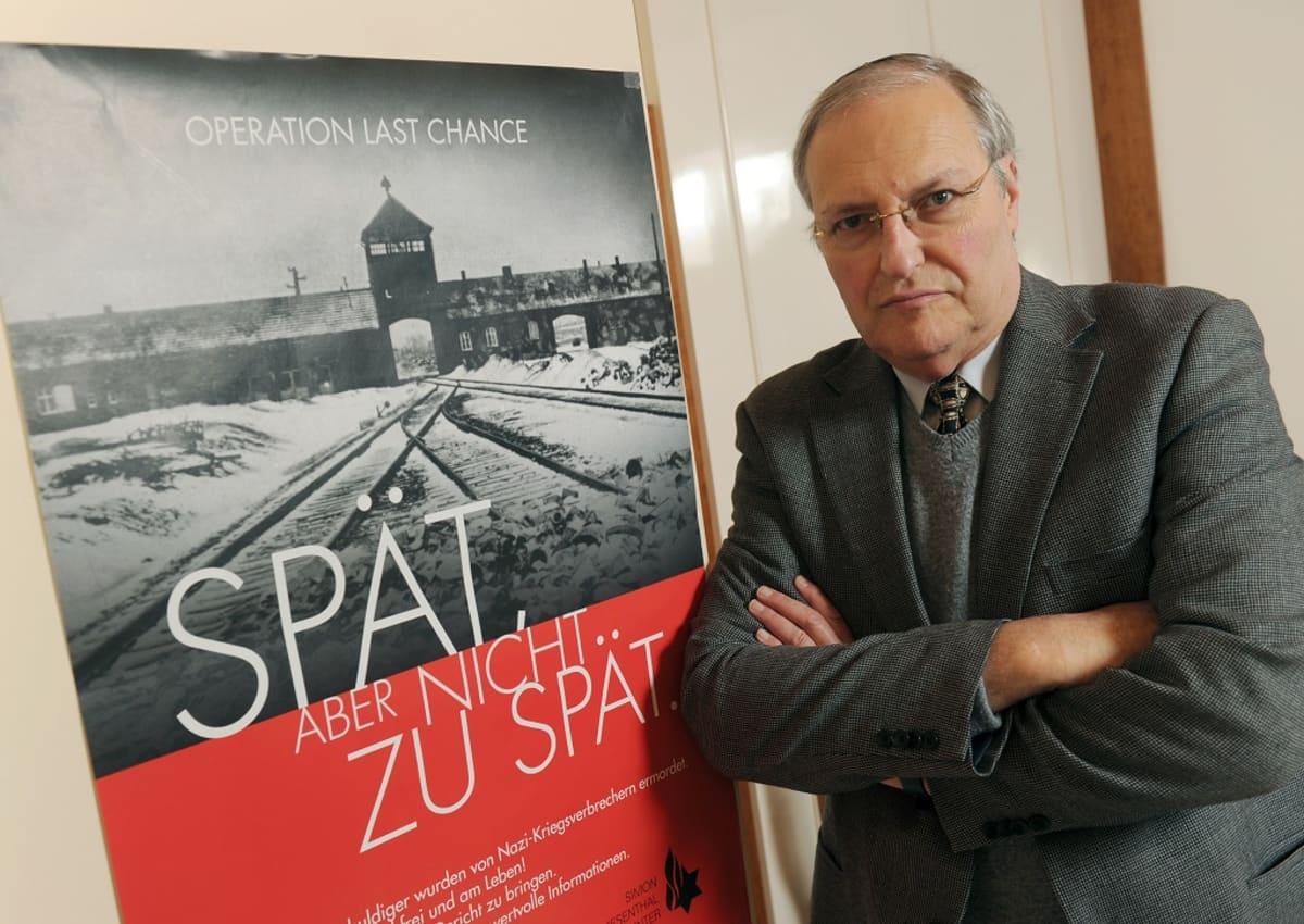 Efraim Zuroff.