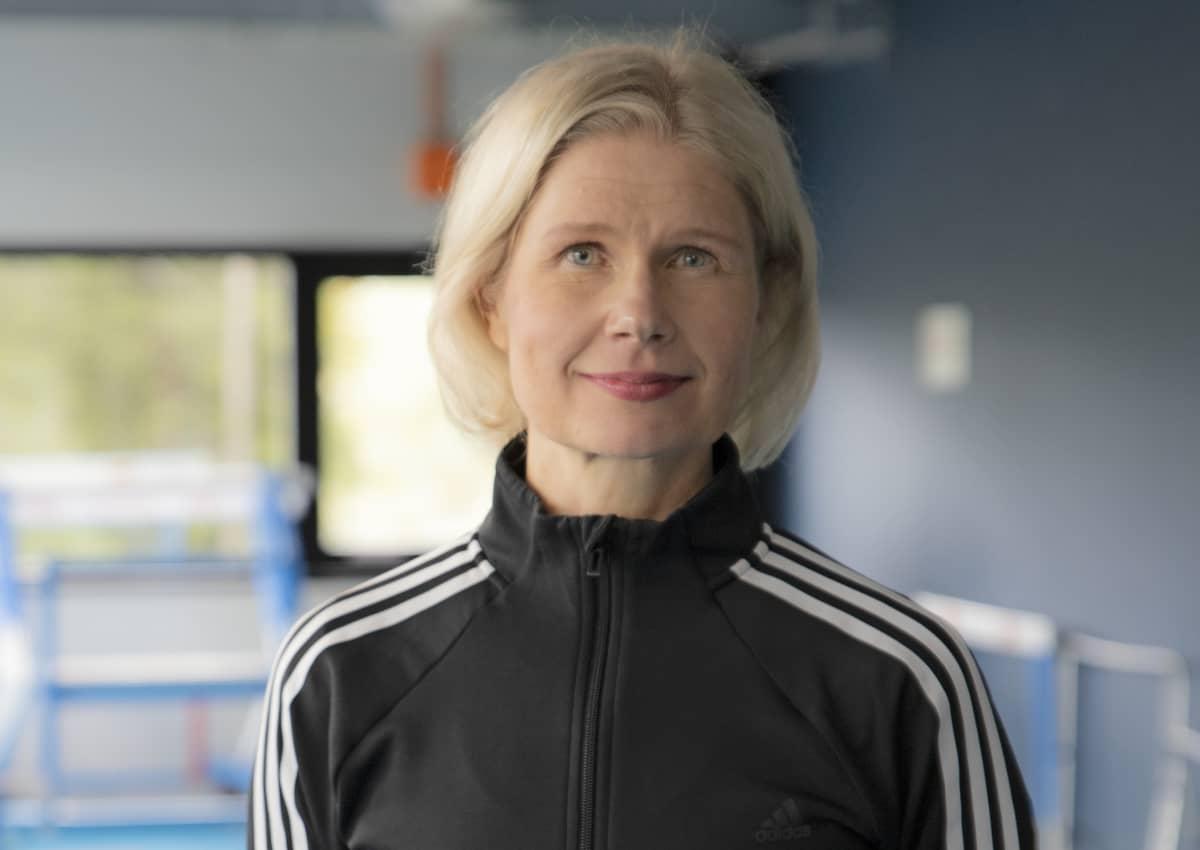 Valmentaja Marjukka Suihko