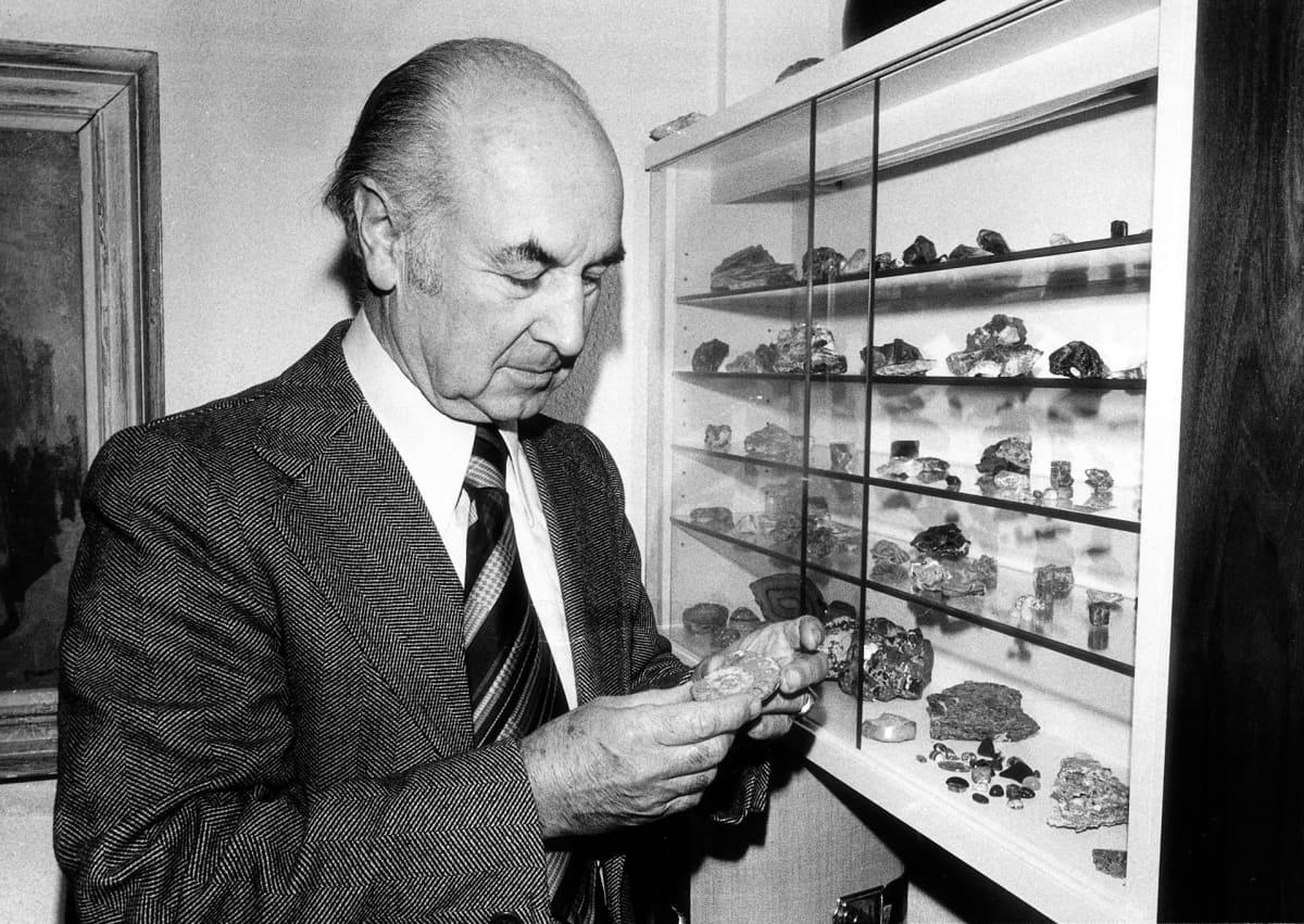 Albert Hofmann vuonna 1976.