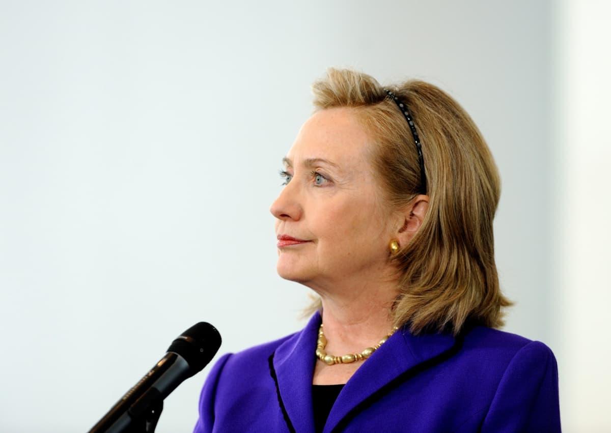 Yhdysvaltain ulkoministeri Hillary Clinton kuvattuna huhtikuussa 2011.