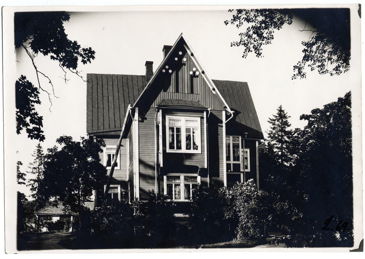 Saksanniemen kartano Porvoossa.