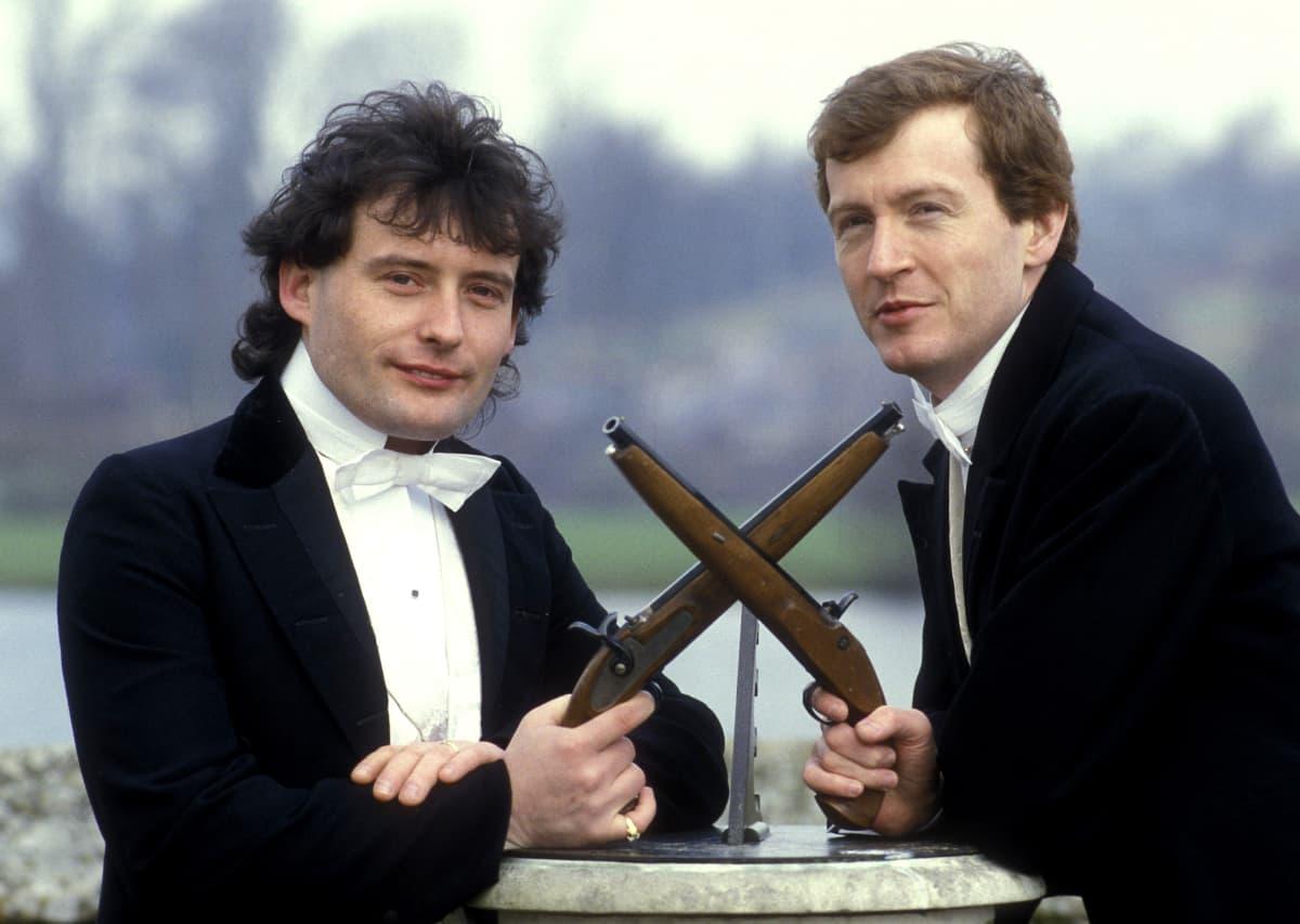 Jimmy White ja Steve Davis kävivät 1980-luvulla lukuisia unohtumattomia snookertaisteluita.