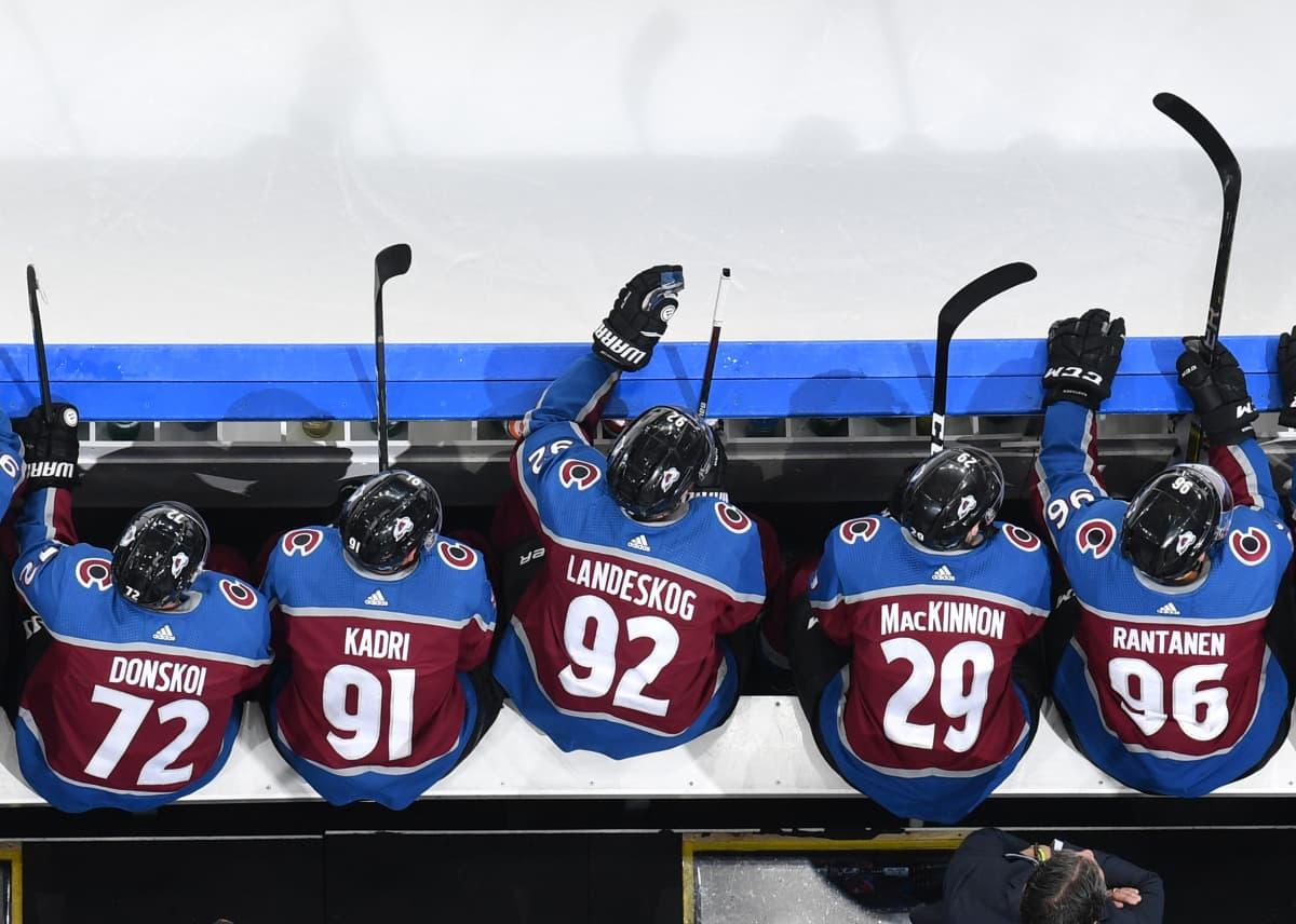 Kuva Coloradon NHL-vaihtoaitiosta