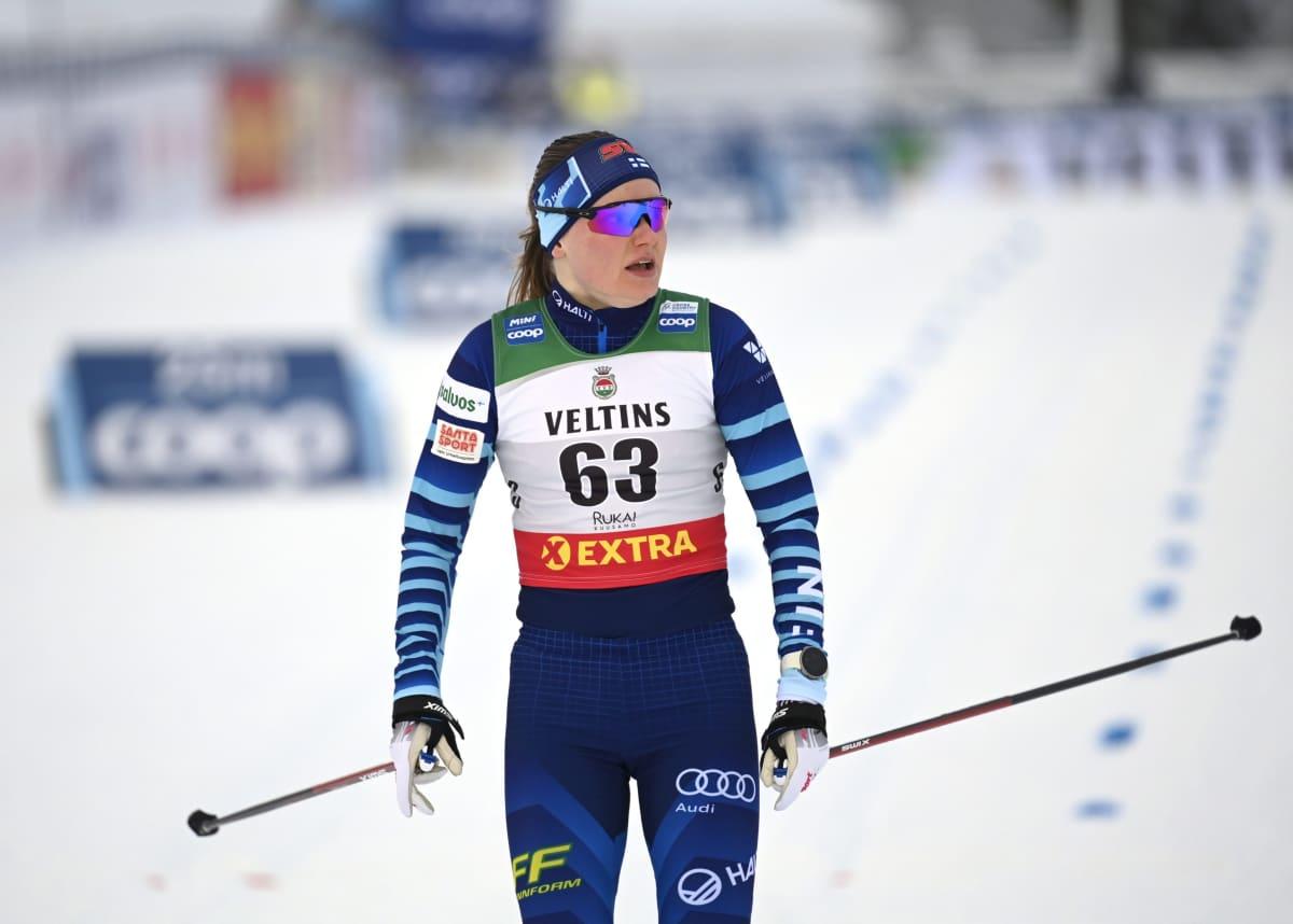 Johanna Matintalo lähikuvassa.