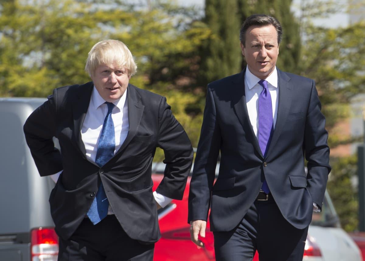 Johnson ja Cameroon.