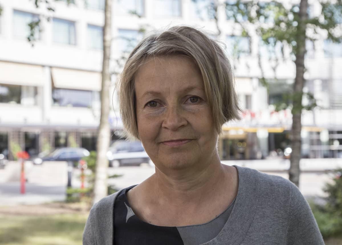 Tuija Leino / ylilääkäri / Terveyden ja hyvinvoinnin laitos, THL / Punkkirokote / Helsinki 15.06.2018