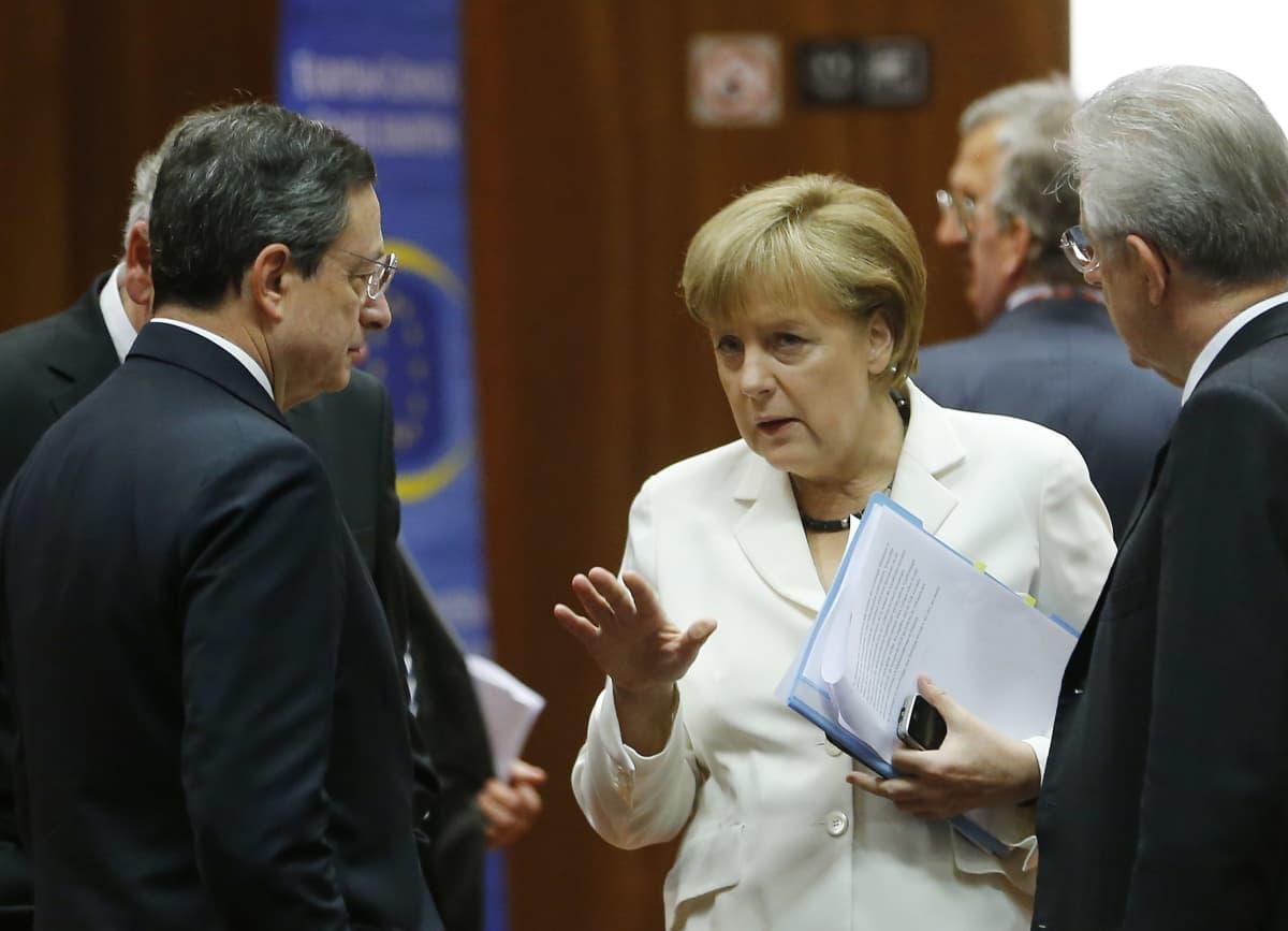 Merkel ja Draghi