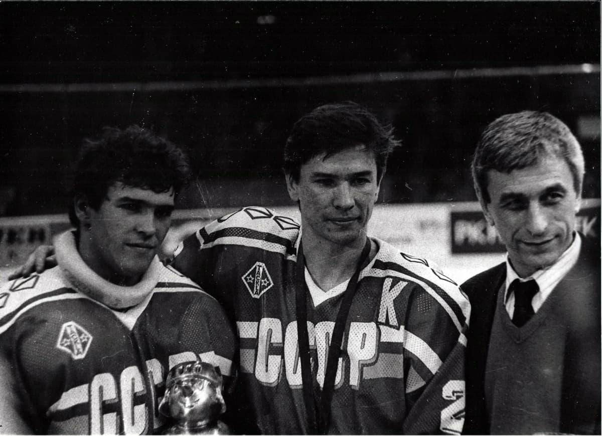 Vjatsheslav Bykov saavutti pelaajaurallaan muun muassa kaksi olympiakultaa ja viisi maailmanmestaruutta.