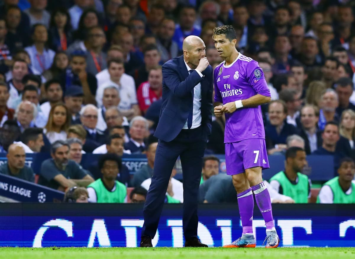 Zidane ja Ronaldo