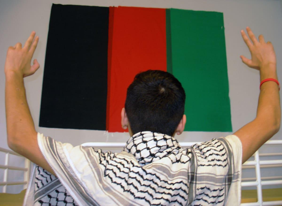 Afganistanin värit muistuttavat Fahimia kotimaasta.