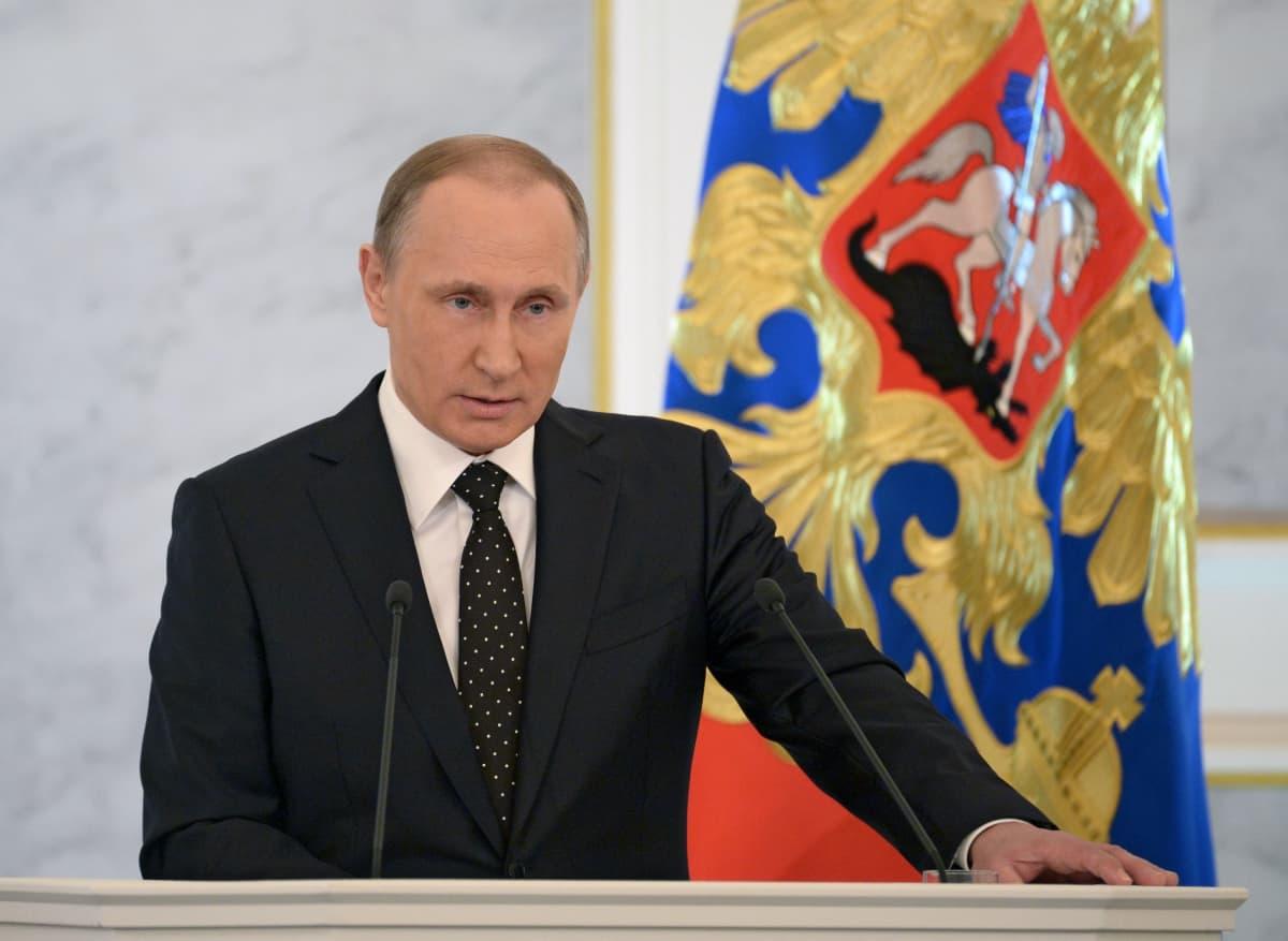 Putinin puhe 2015