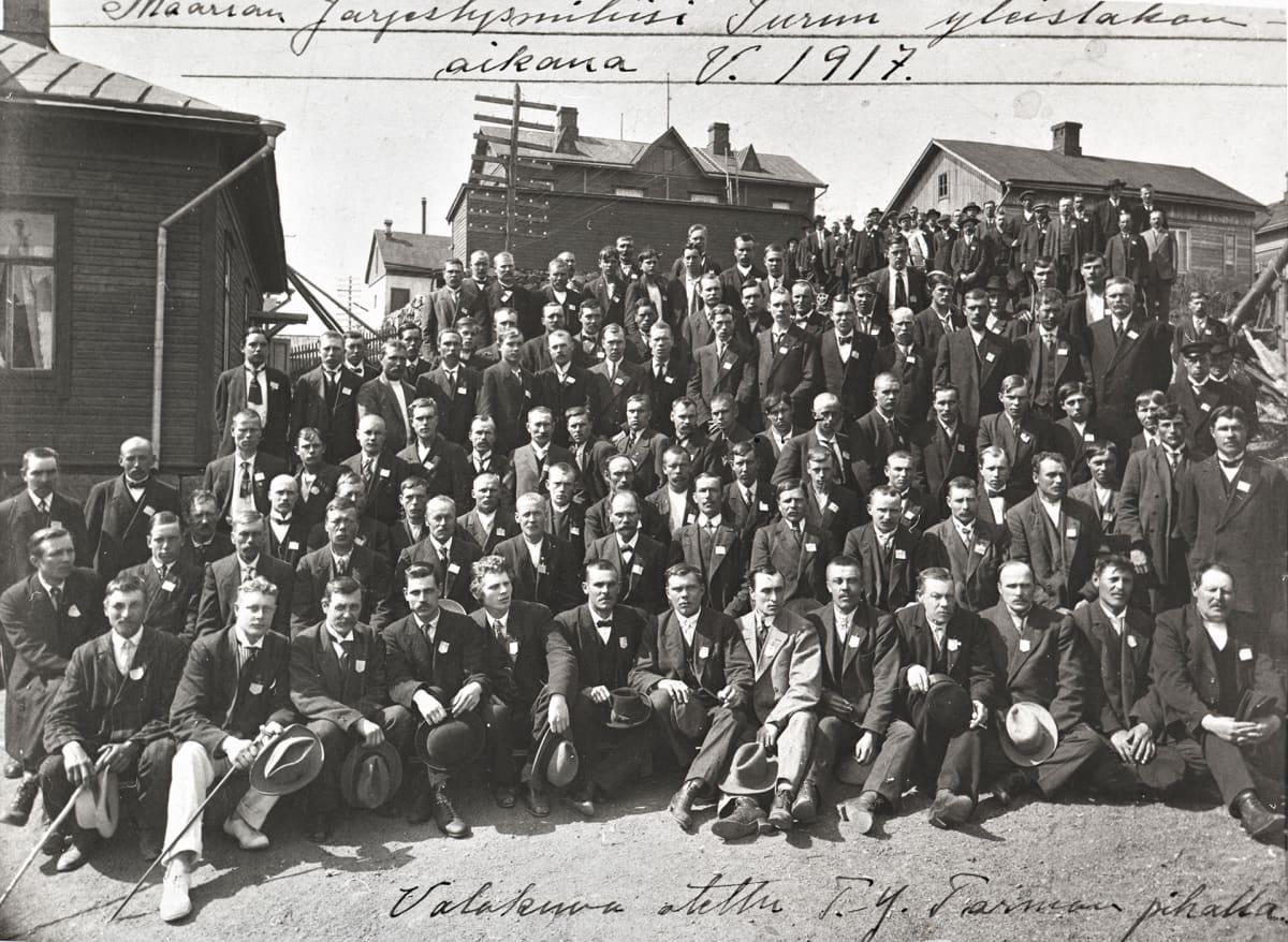 Turun yleislakko 1917
