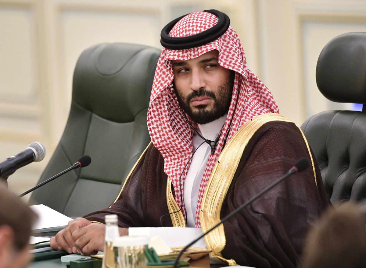 Muhammad bin Salman.