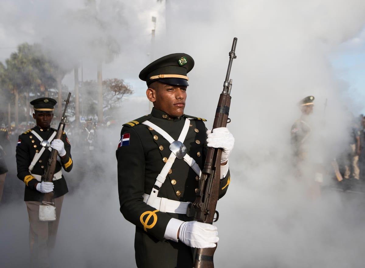 Dominikaanisen tasavallan itsenäisyyspäivän paraati.