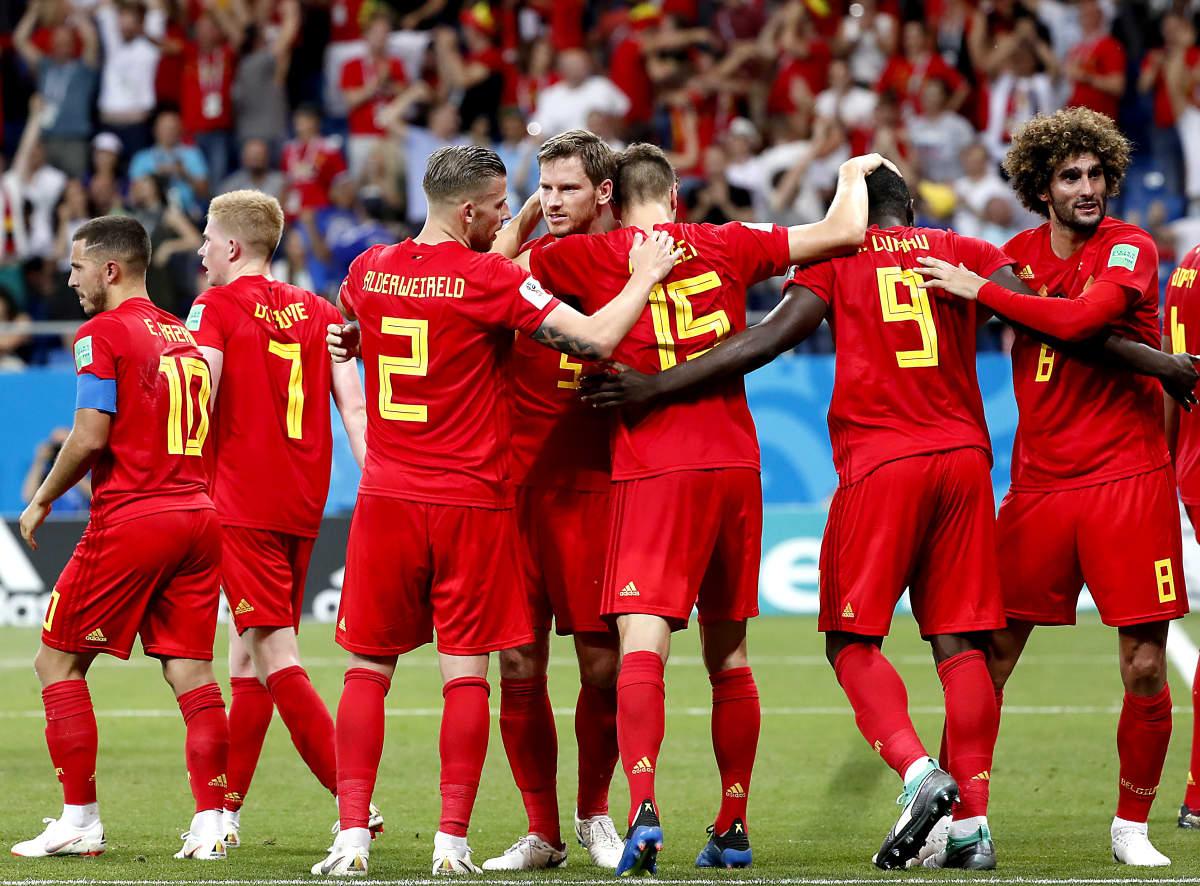 Belgia  löi Japanin