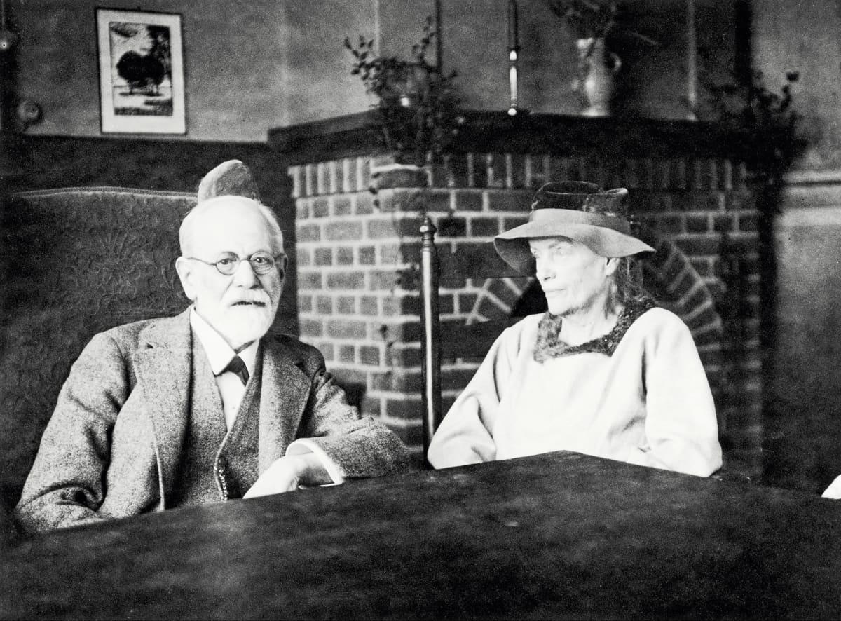 Sigmund Freud ja Lou Andreas-Salomé 1920-luvulla.