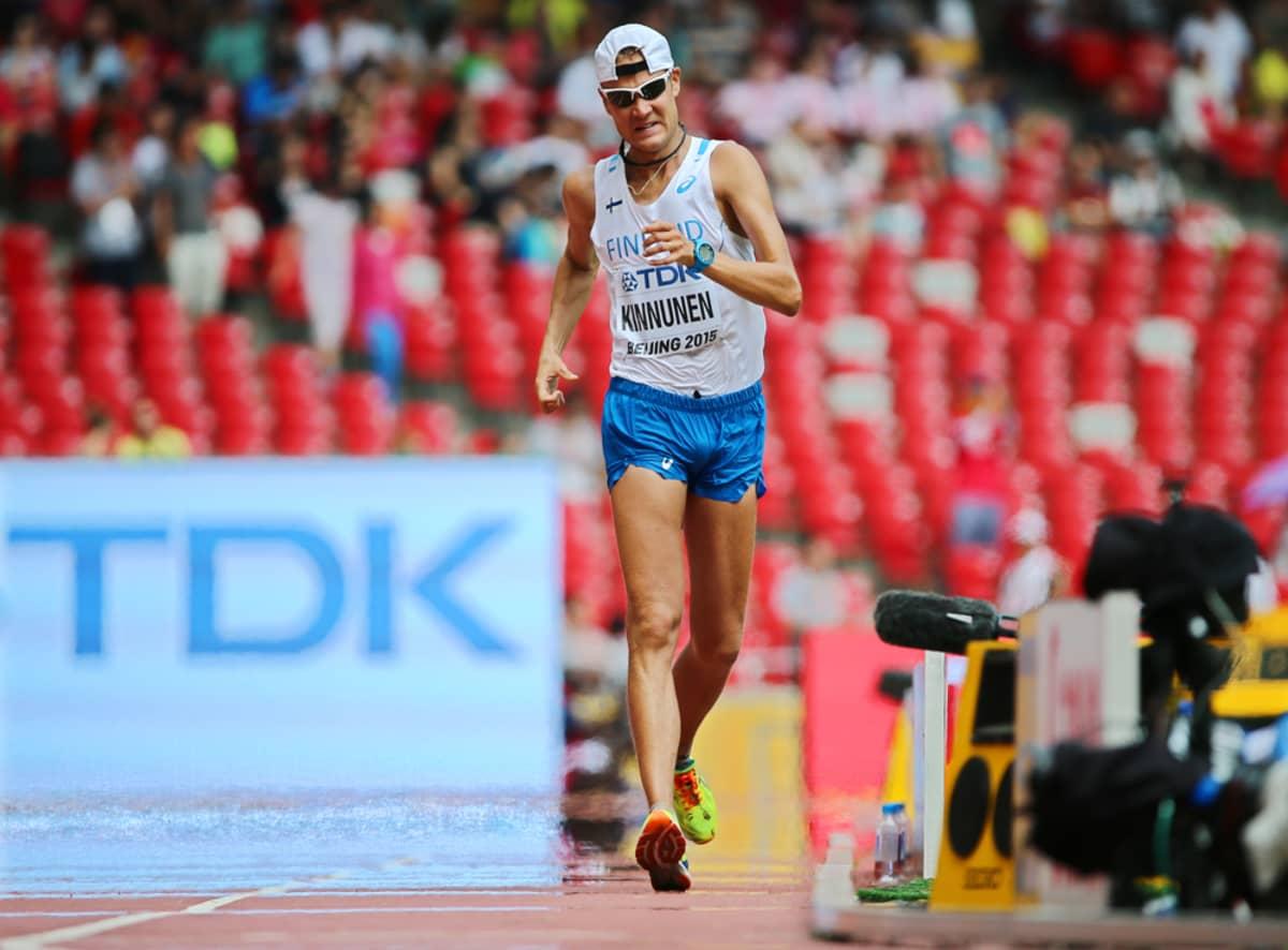 Jarkko Kinnunen Pekingin MM-kisoissa 2015.