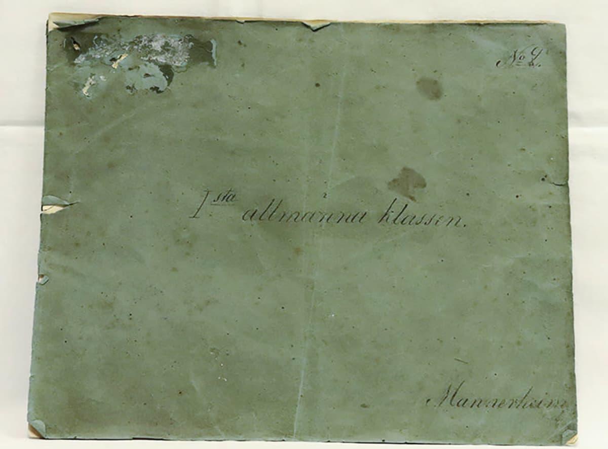 Mannerheimin piirustusvihko