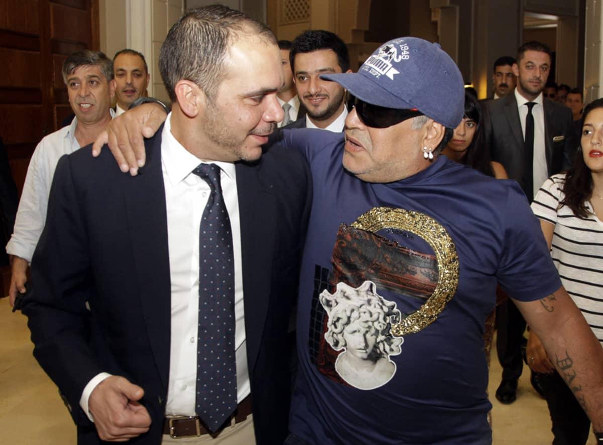 Prinssi Ali bin al-Hussein Diego Maradona