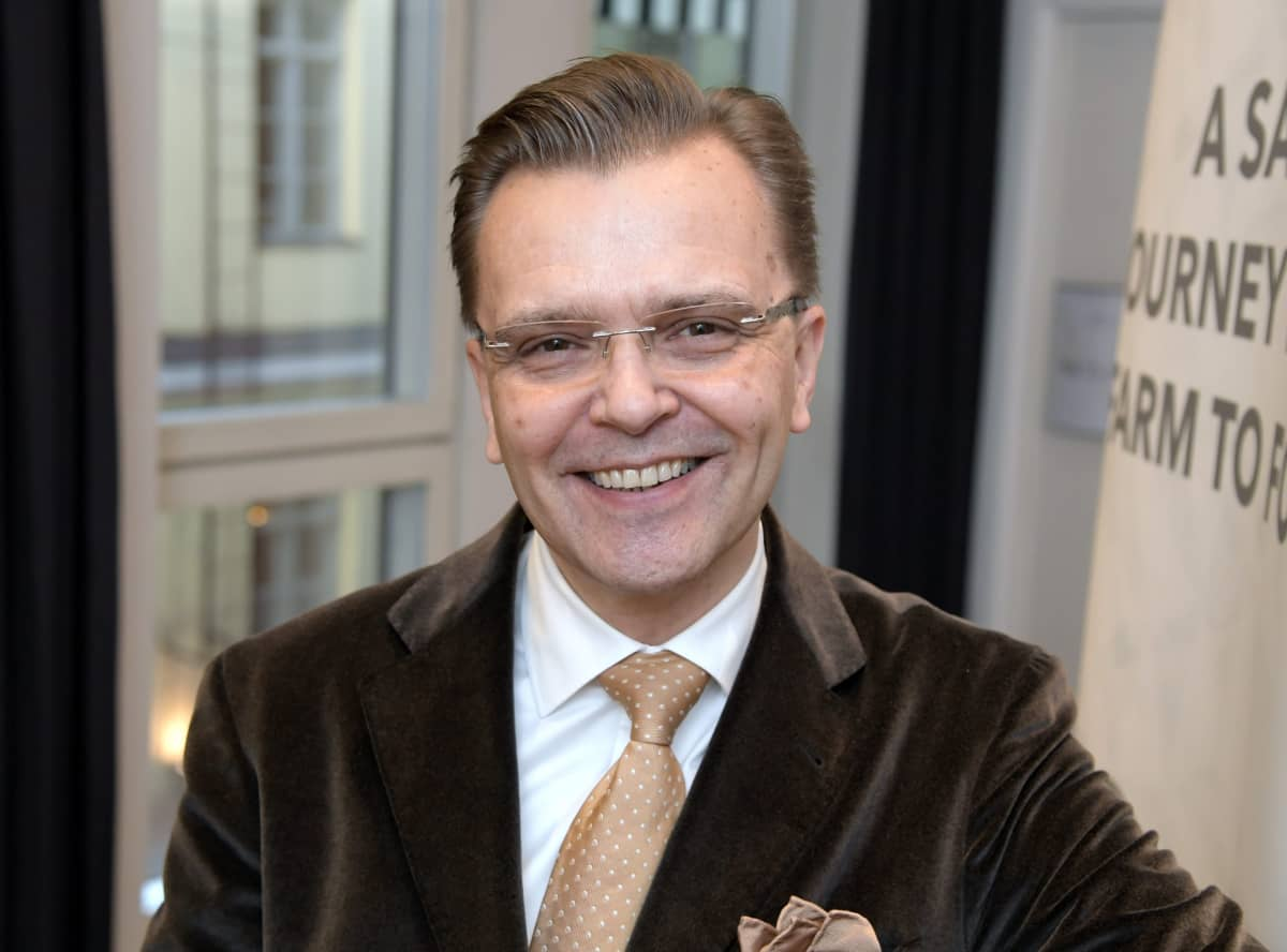 Jari Latvanen, vd för Stockmann.