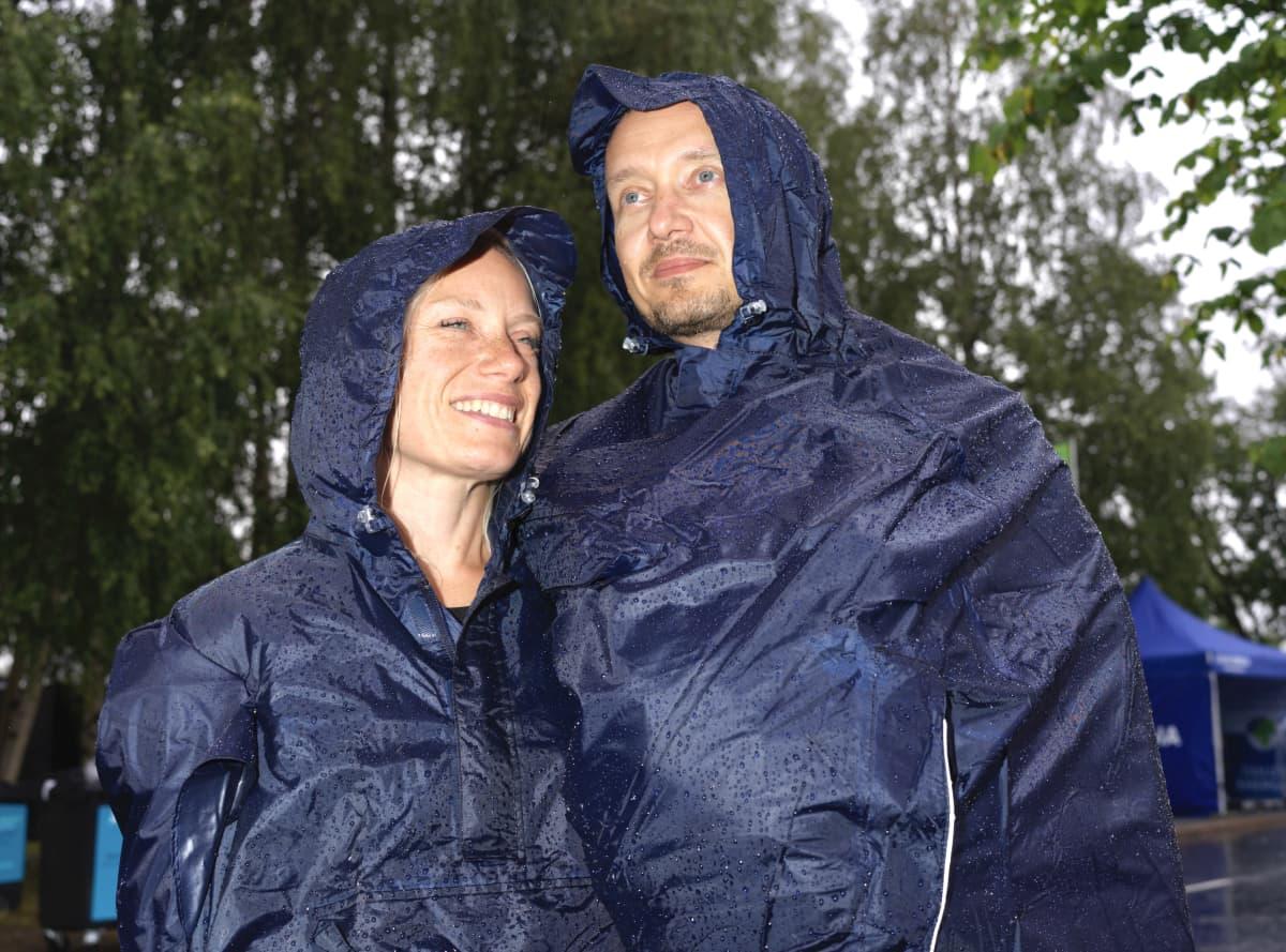 Nina Salmela ja Mika Kemppainen