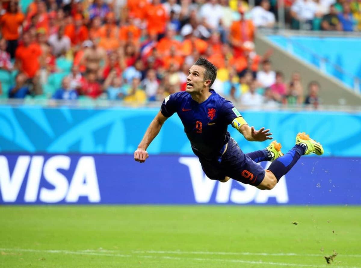 Yhdysvaltojen Clint Dempsey teki 0-1 maalin Ghanaa vastaan 16.kesäkuuta Brasiliassa 2014