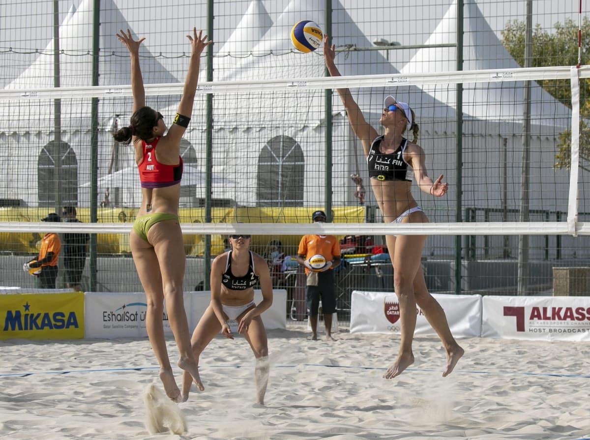 Beach volley Lehtonen Ahtiainen