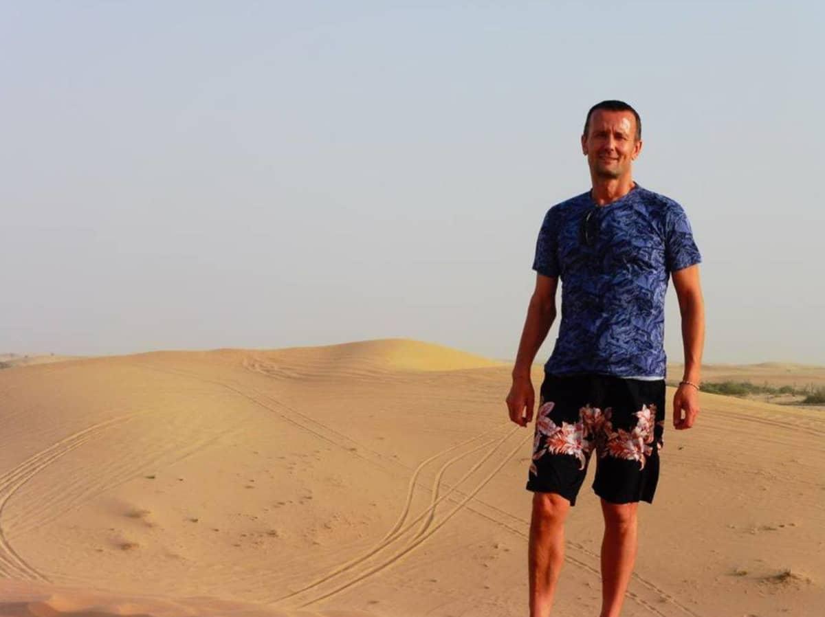 Ari Haukka Abu Dhabissa..