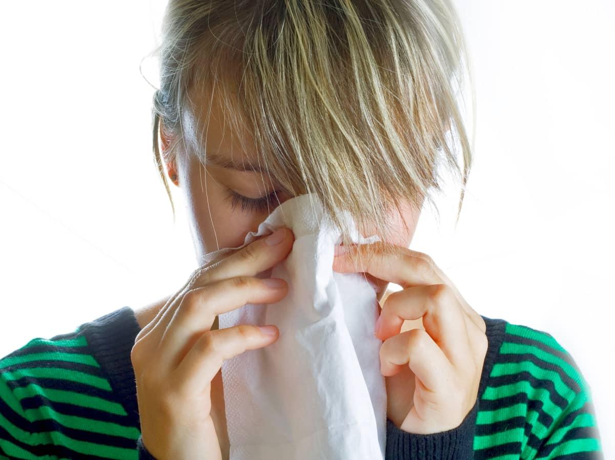 Niistäminen on allergiaoire