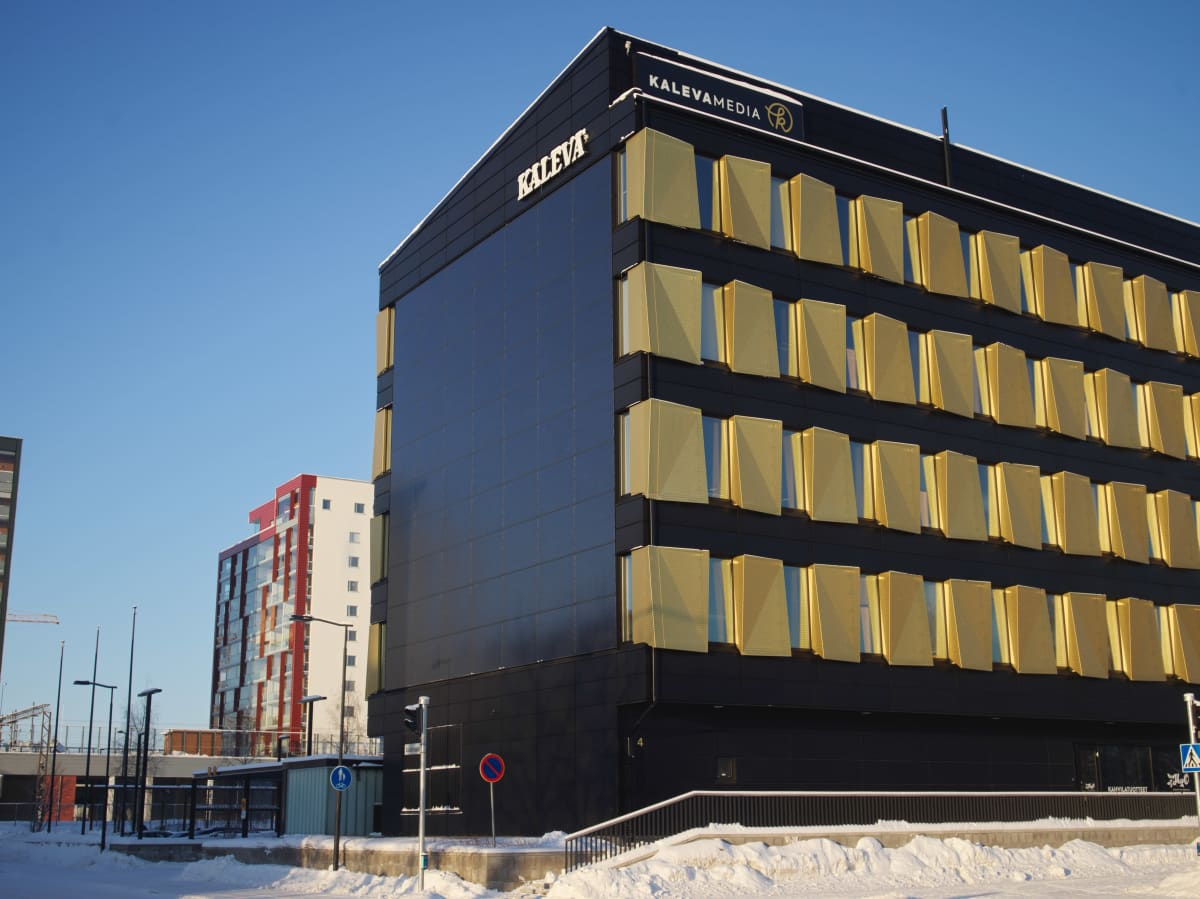 Kalevan toimitus Oulussa