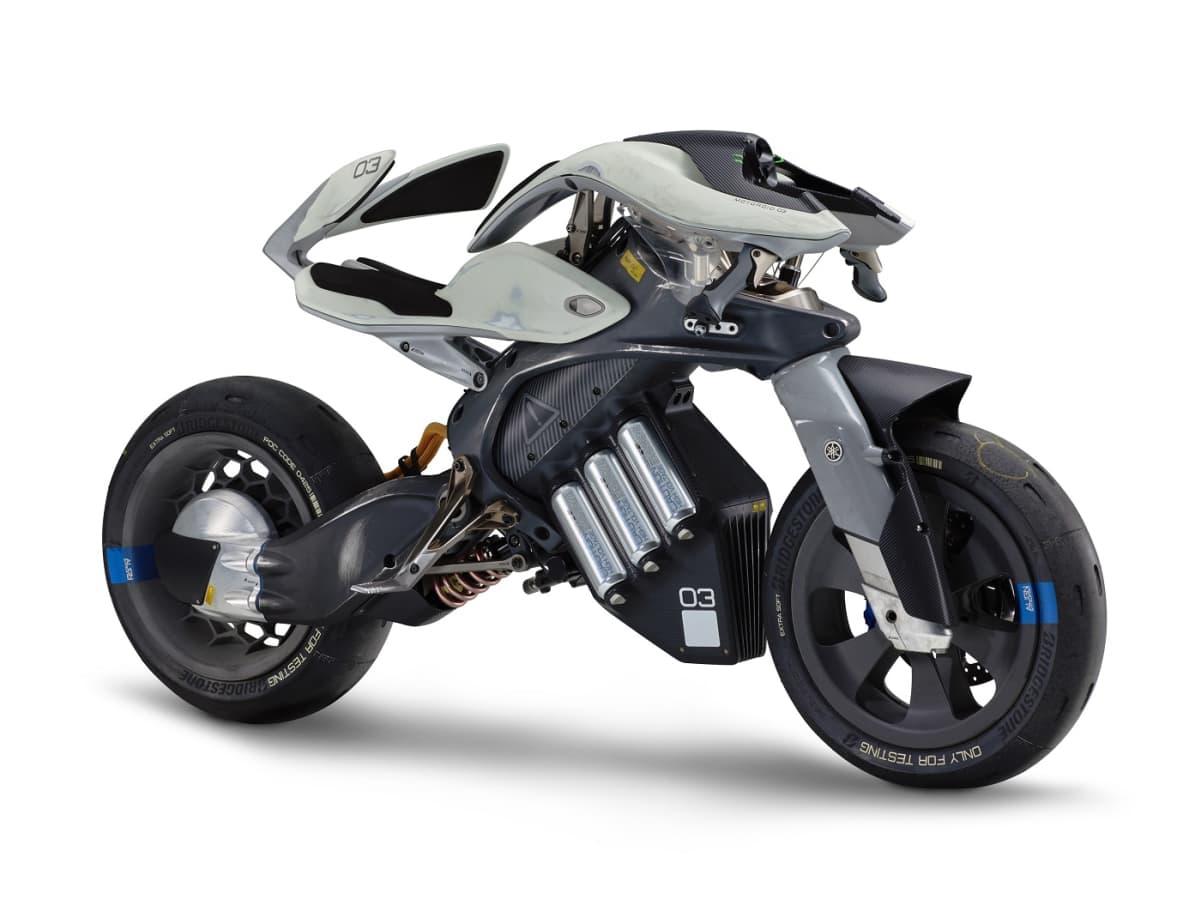 Motodroid on Yamahan visio tulevaisuuden moottoripyörästä.