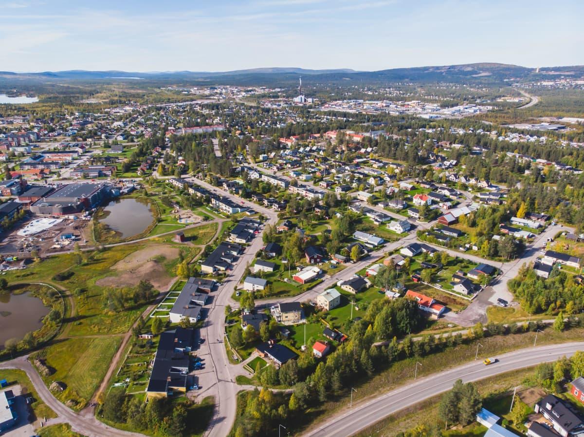 Gällivare kommun i Norrbottens län har omkring 17 000 invånare.