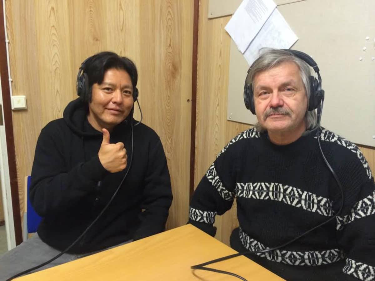 Blackhorse Lowe ja Jorma Lehtola
