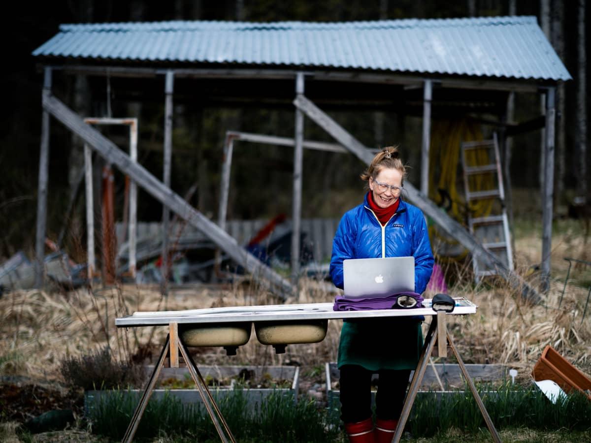 Kati Outinen, Karjaa, 24.04.2020